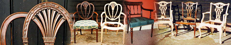 photo of hand-made and restored chairs